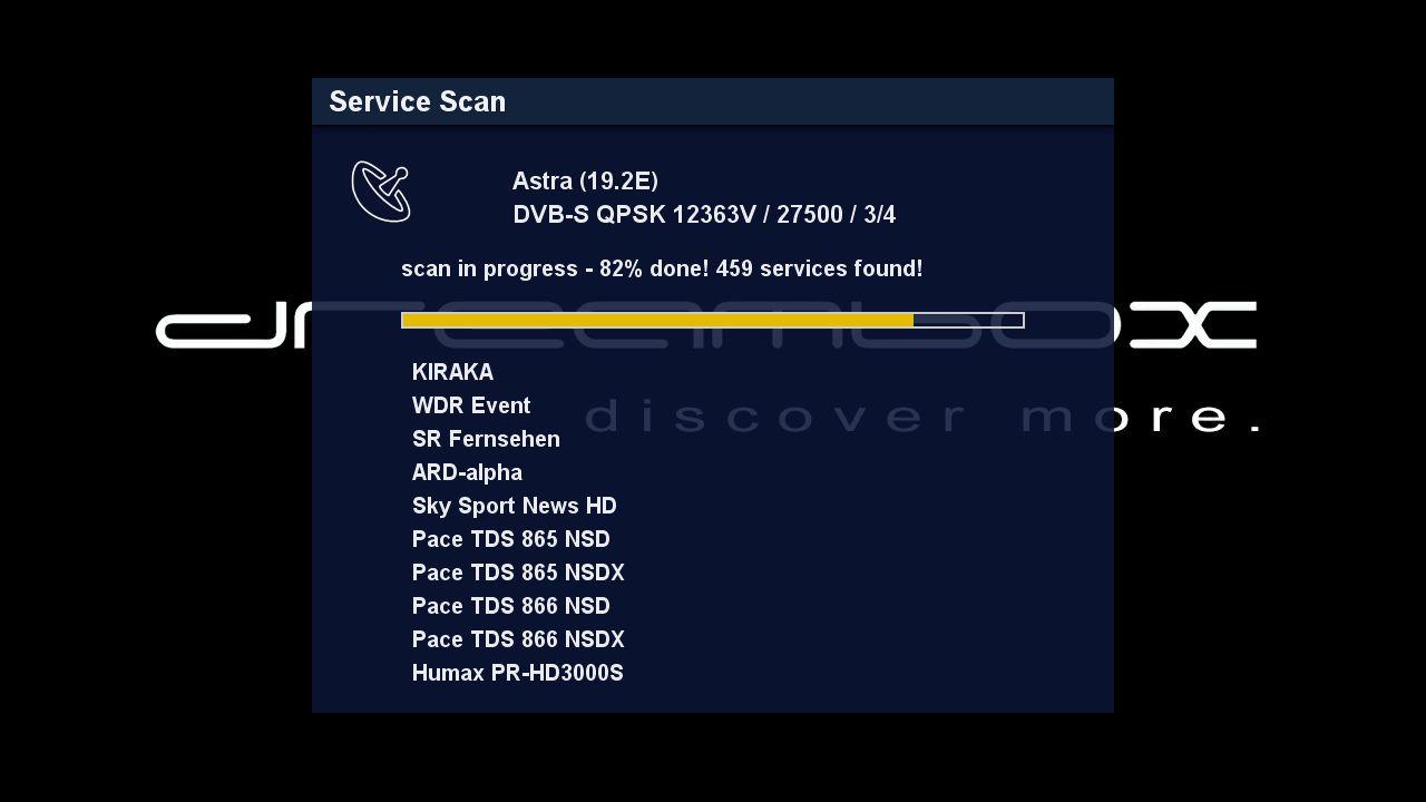 DM900 setup search