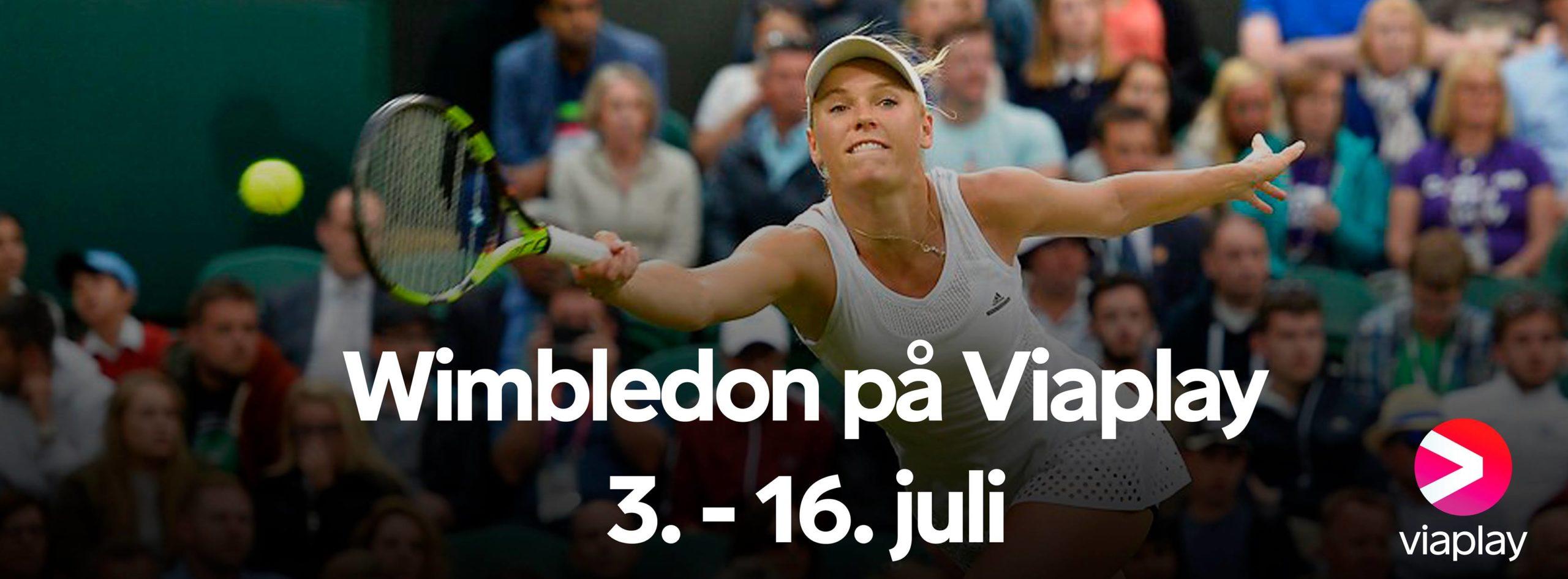 Wimbledon 2017 TV Streaming Viaplay