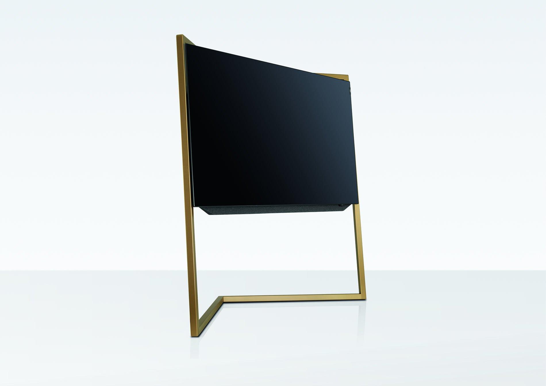 loewe bild 9 oled med fokus p anderledes design digitalt tv. Black Bedroom Furniture Sets. Home Design Ideas
