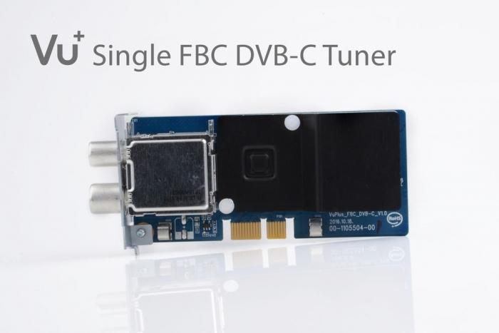 Vu FBC DVB C tuner