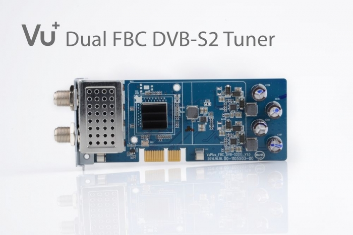 Vu+ FBC DVB-S2 tuner