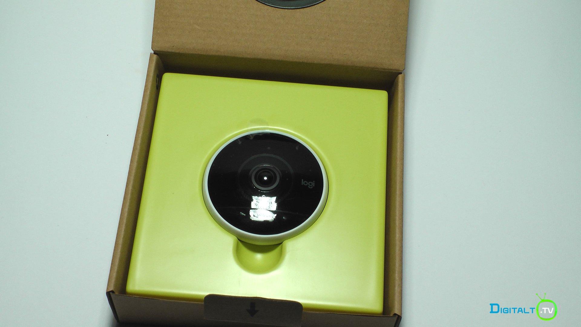 Logitech Circle 2 udpakning kamera