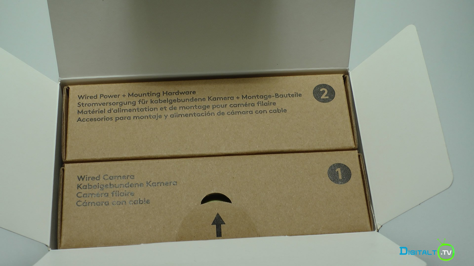 Logitech Circle 2 udpakning kasse