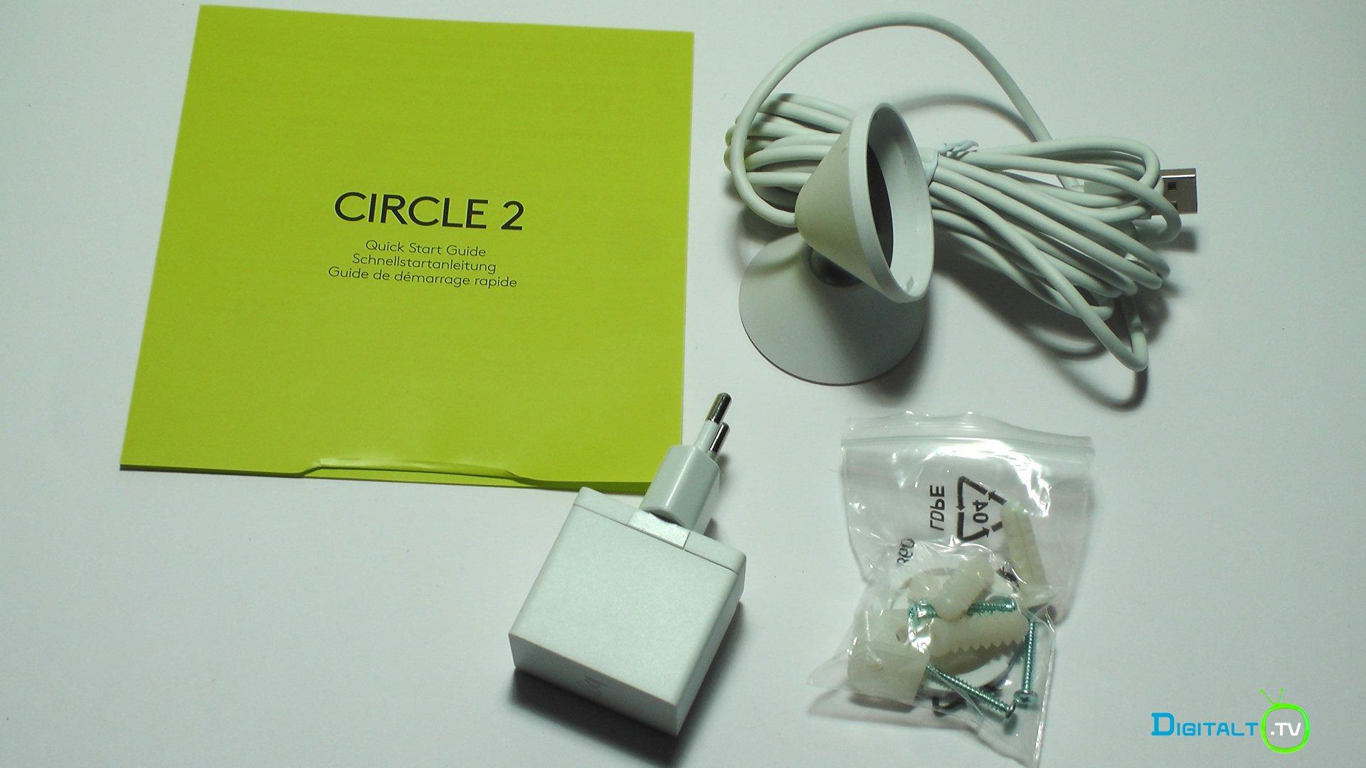 Logitech Circle 2 udpakning tilbehoer