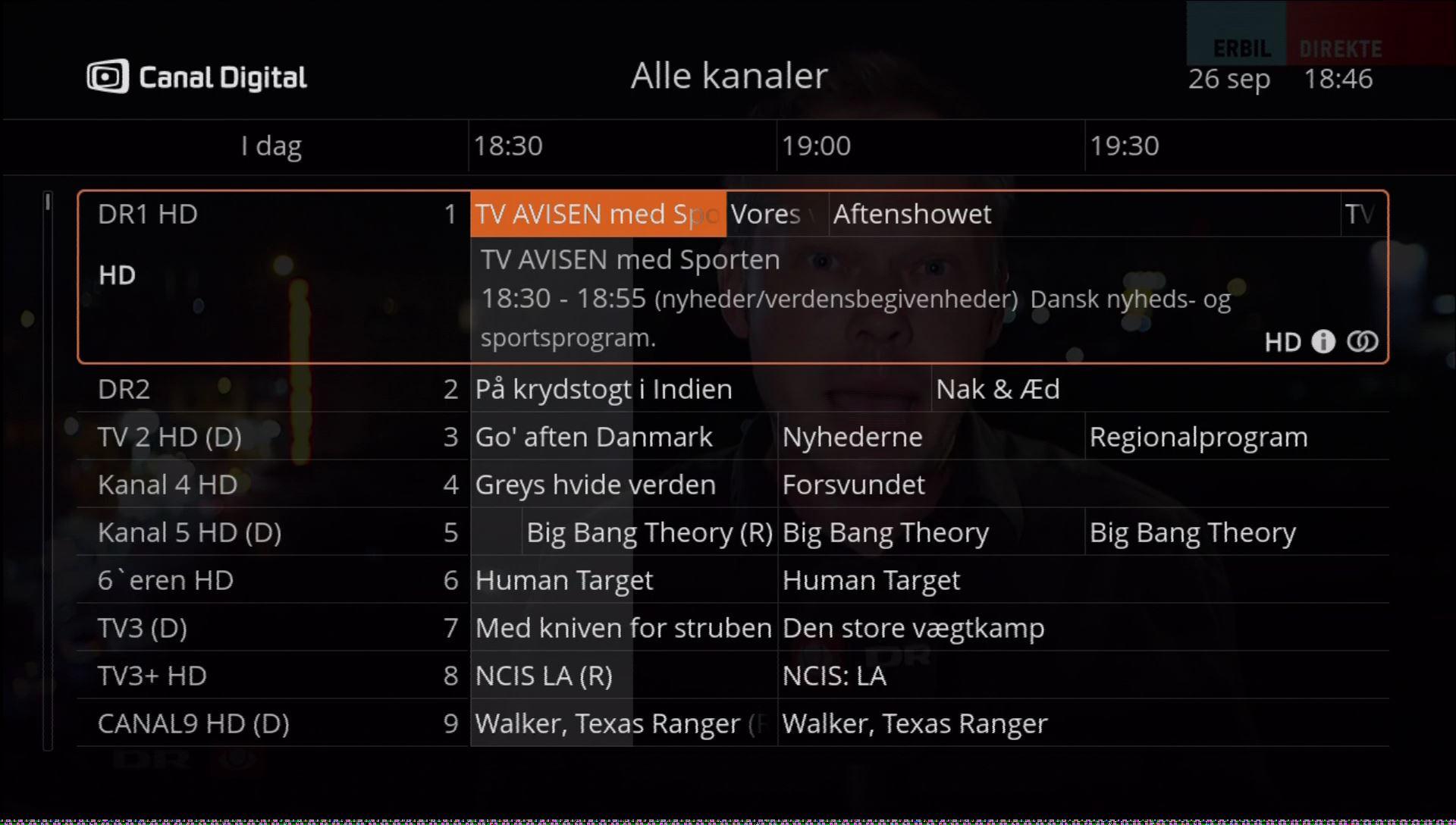 Canal Digital HD Smart Entertain ny software tvguide