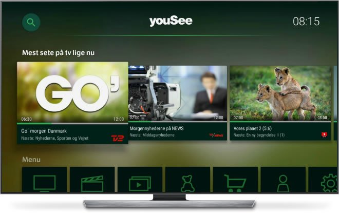 YouSee Android-TV-app
