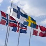 nordiske lande flag