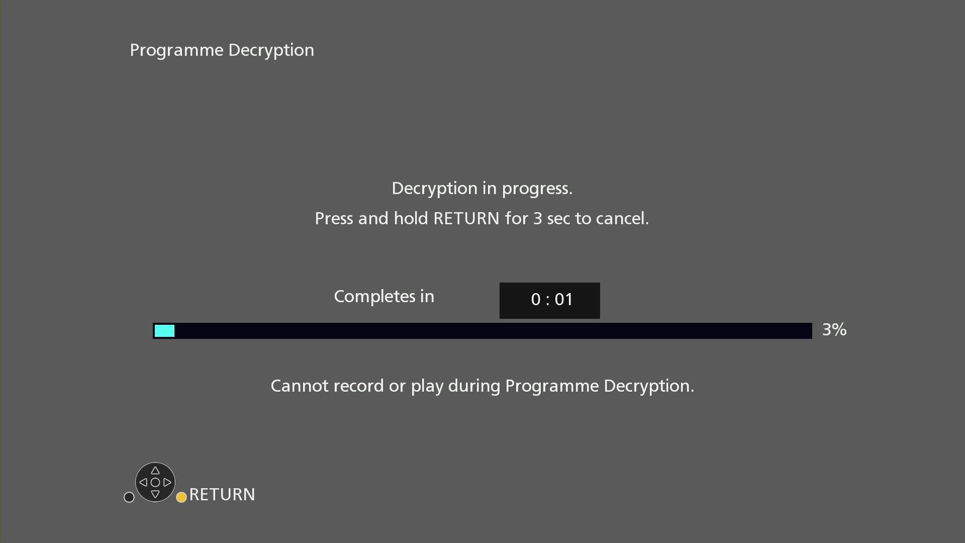Panasonic DMR UBC86 Rec decryption