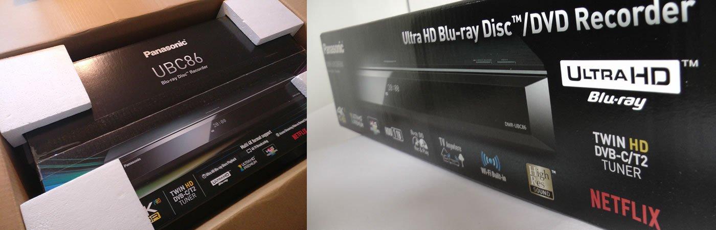 Panasonic DMR-UBC86 boks