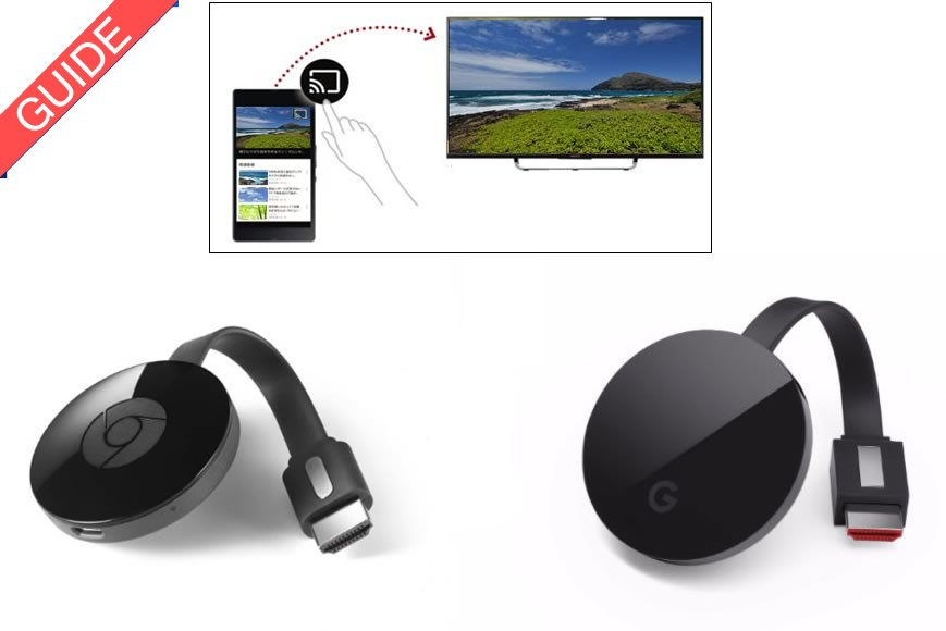 Chromecast guide ultra indbygget