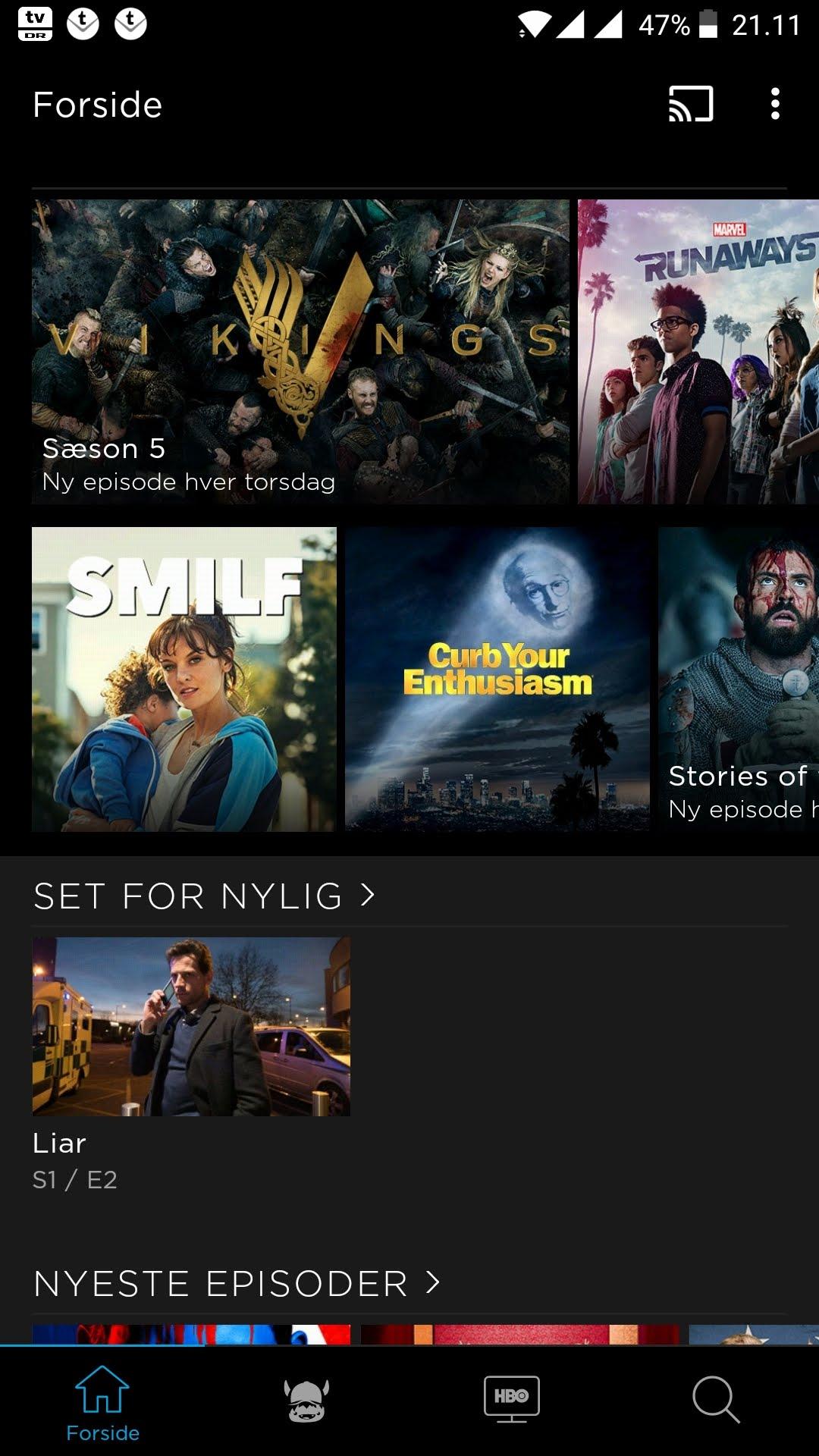 HBO Nordic har opdateret deres app til smartphone og Apple TV : DIGITALT.TV