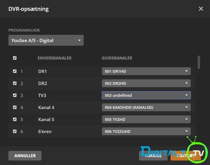 HDHomerun Plex Live TV setup tuner channels epg match