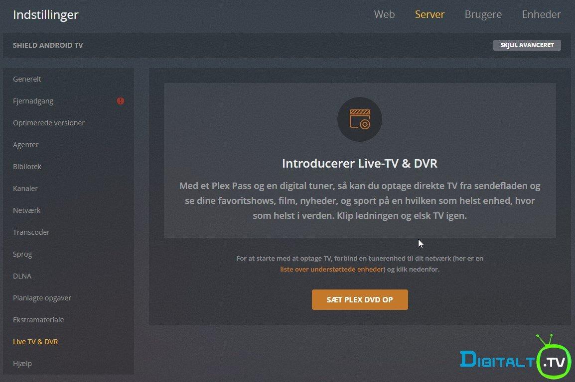 HDHomerun Plex Live TV setup