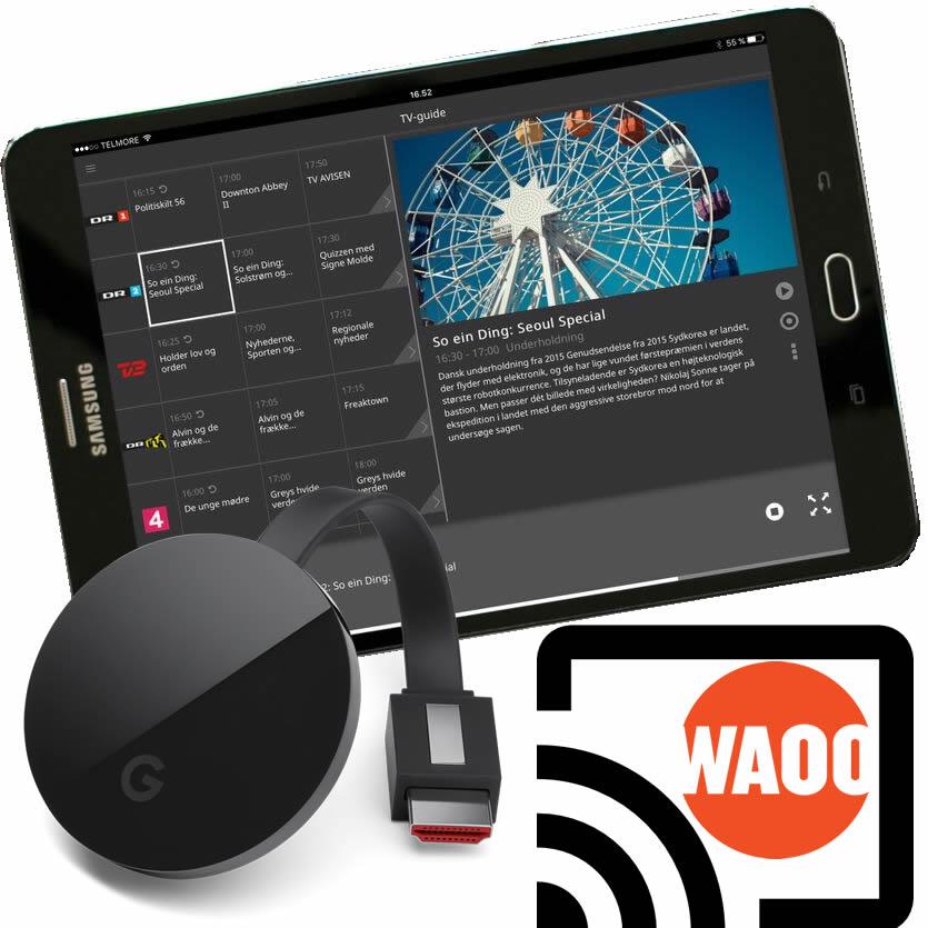 Waoo Web TV Android chromecast 1