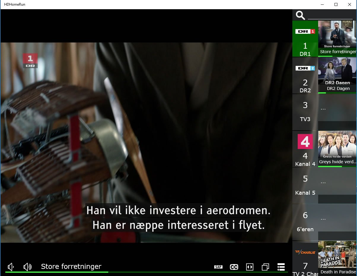 Silicon Dust HDHomeRun EXPAND / PLEX TV Test : DIGITALT TV