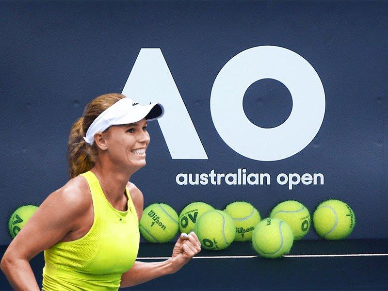 Australian open Wozniacki