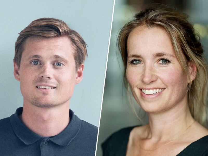 Morten Lubbert og Dorte Hoeeg Brask