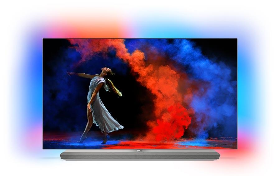 Philips TV går ind for OLED som den foretrukne teknologi i topmodellerne.  Og det bekræftes i 2018-sortimentet b12e0130bb1aa