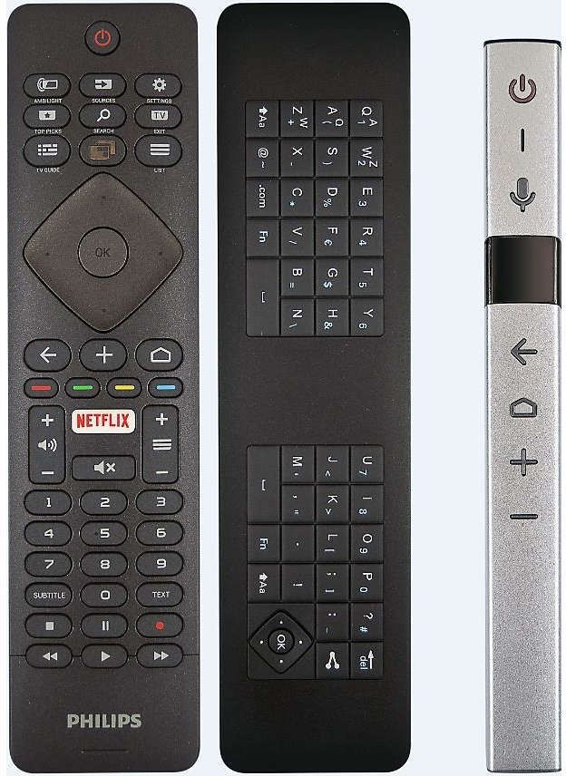 Philips 65OLED873 remotes