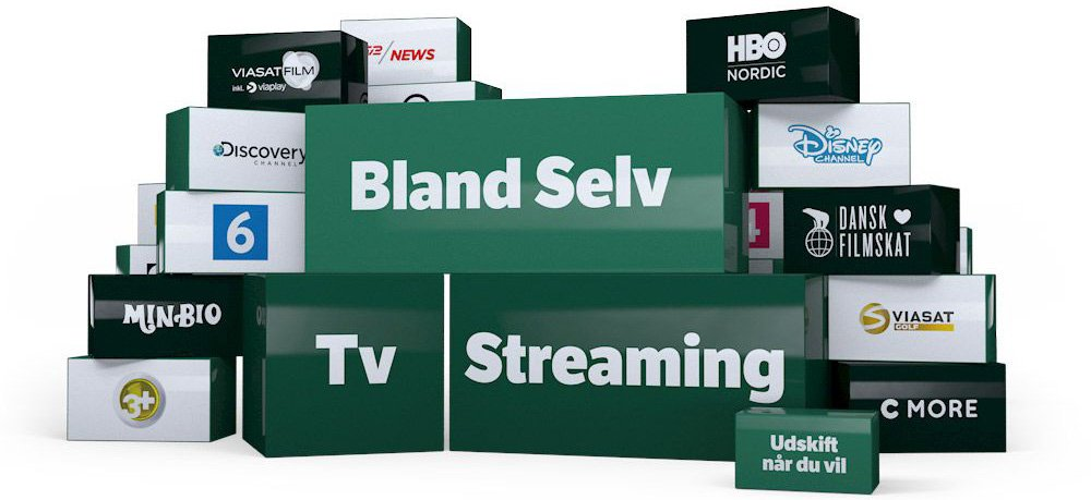 bland selv yousee tv streaming