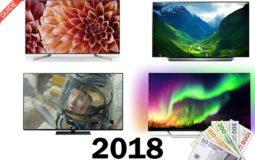 Foto af Prisoverblik – Nye 2018 OLED og LCD TV