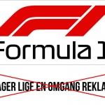 Formel 1 uden reklamer