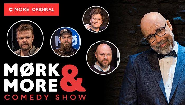Mørk og More Comedy Show CMORE