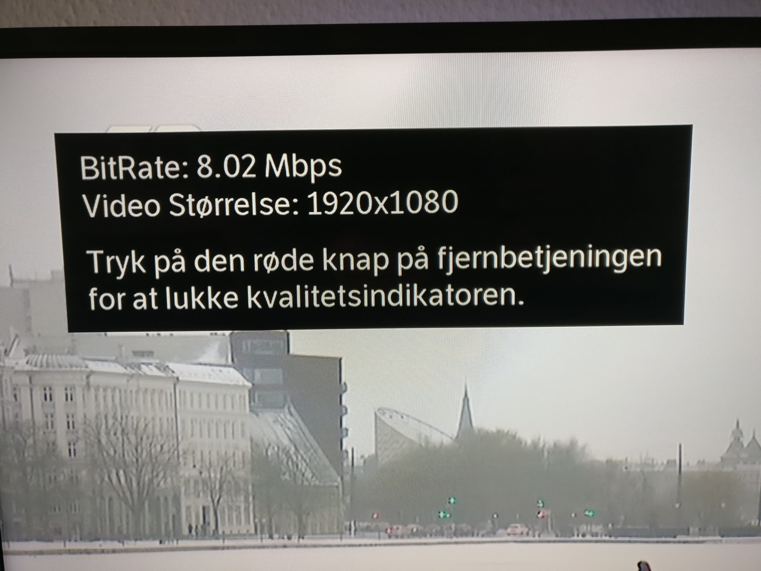 YouSee bitrate boks