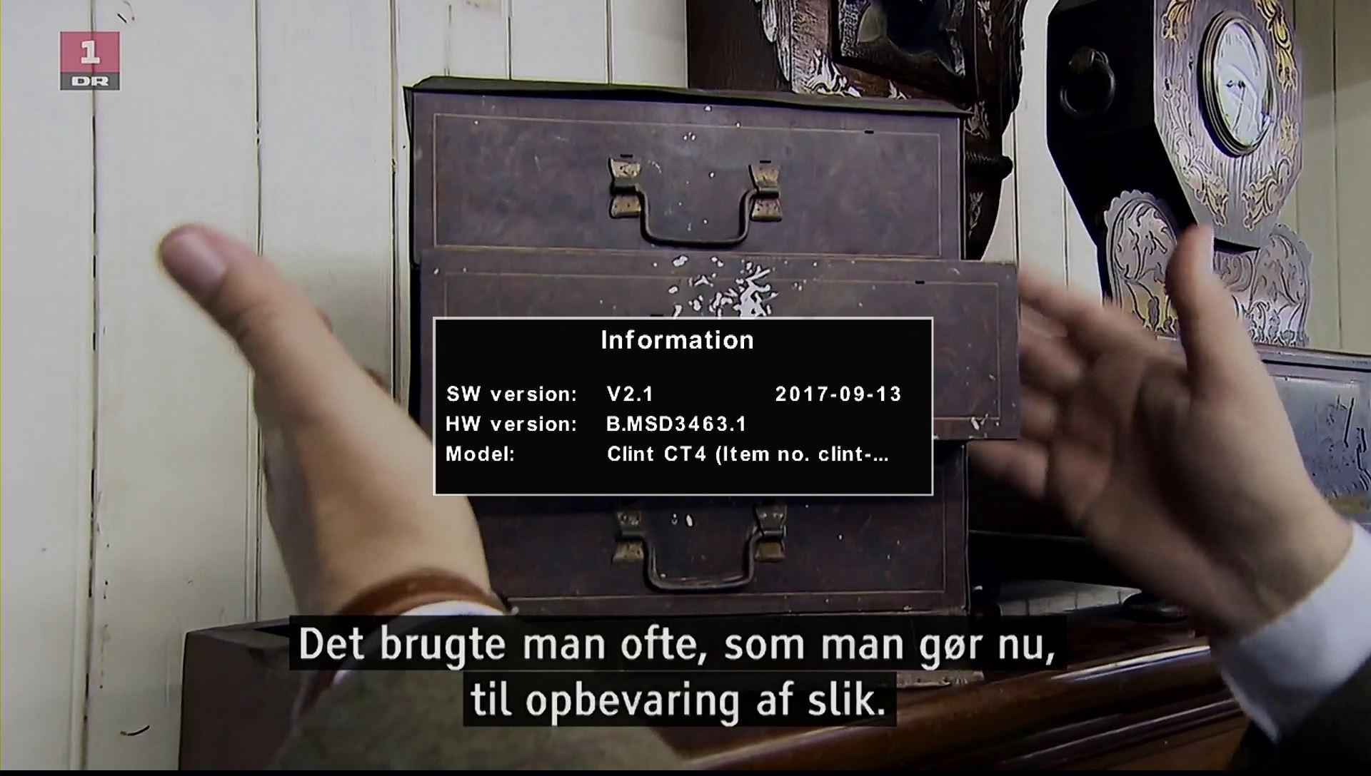 Clint CT4 gammel firmware