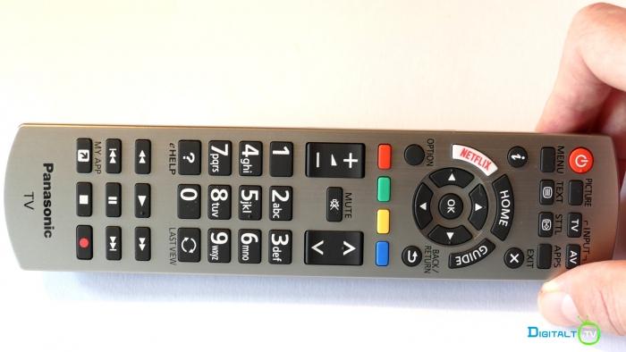 Panasonic FX700 fjernbetjening