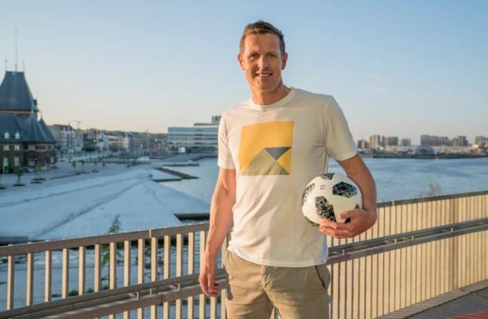 DR VM fodbold Peter Møller