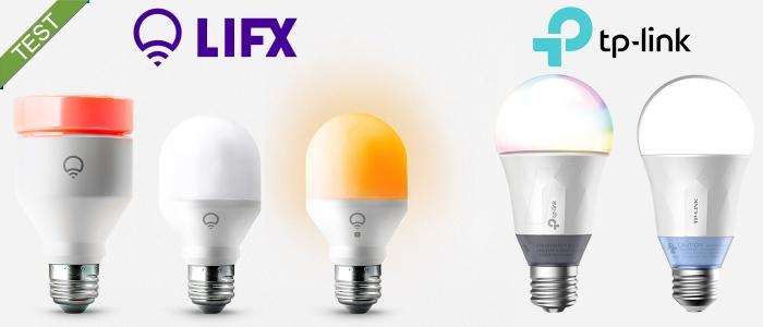 Smartpærer test LIFX TP-LINK