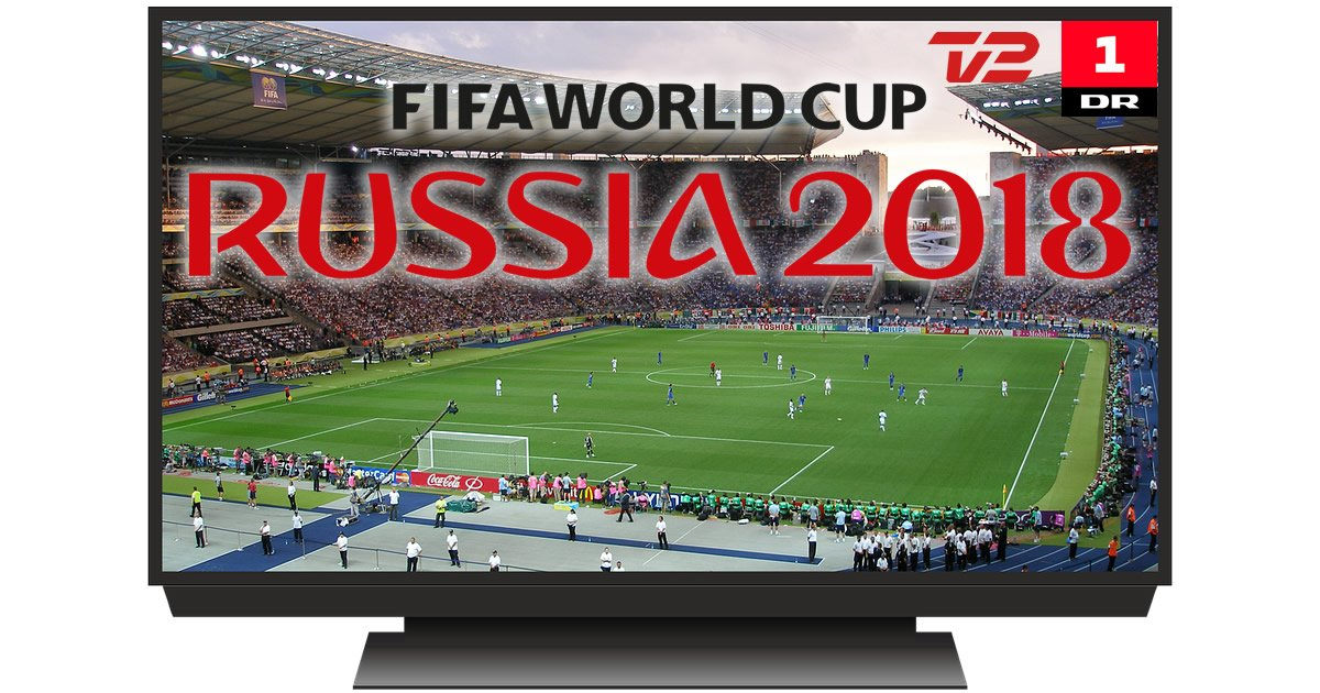 VM fodbold 2018 TV Guide