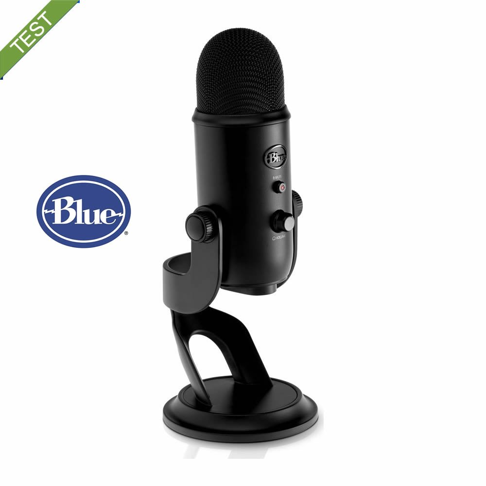 Blue Yeti Blackout test