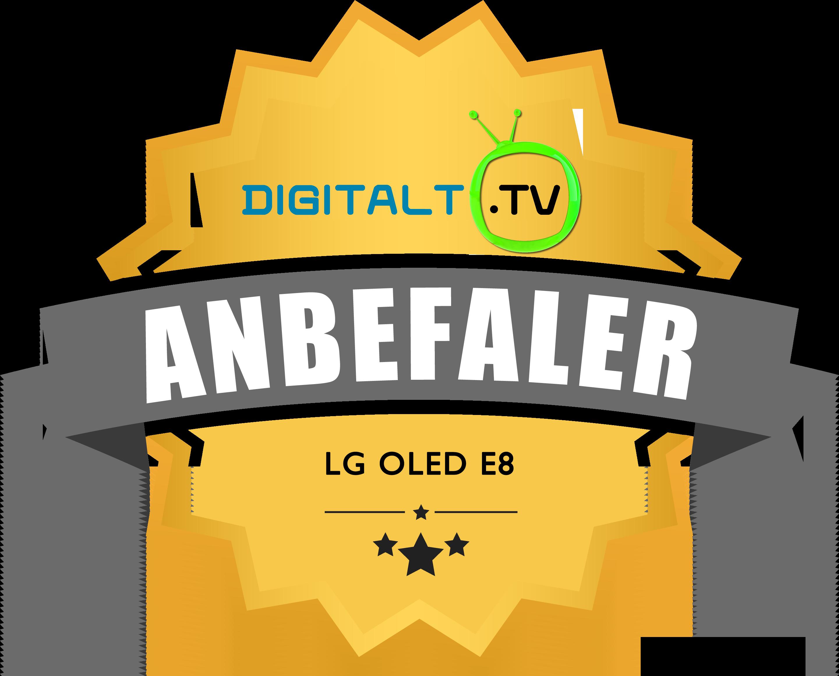 LG OLED E8 Logo anbefalinger 2018.fw