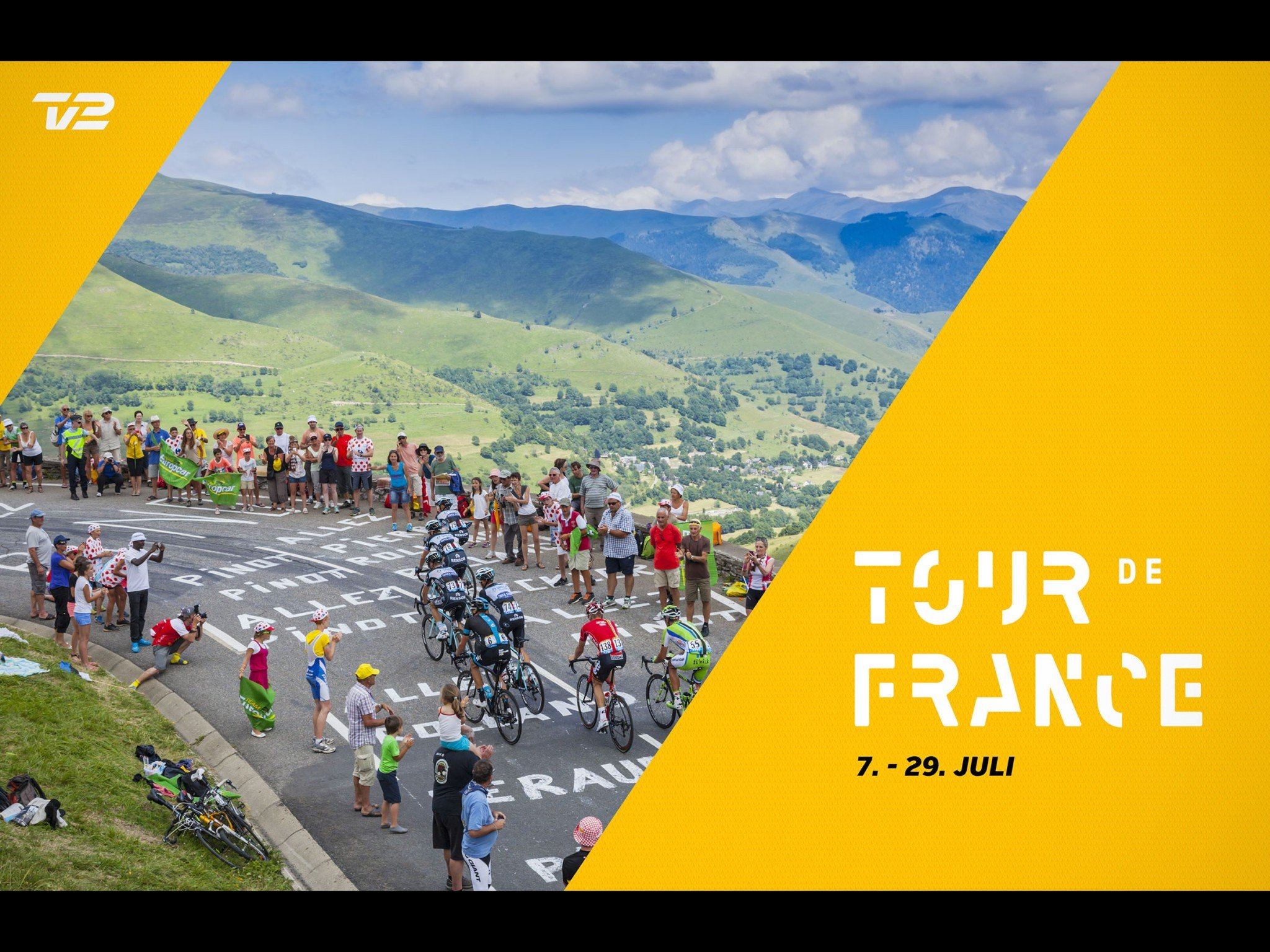Tour de France 2018 på TV