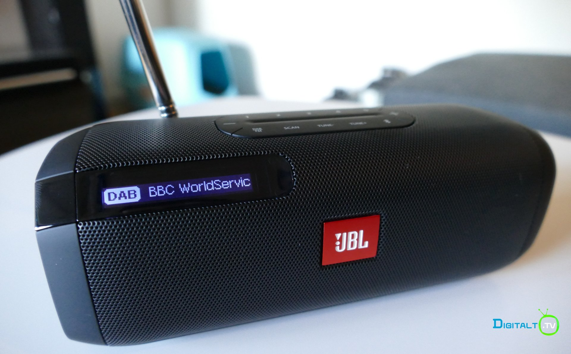 JBL Tuner display DAB