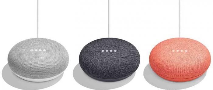 google home mini farver
