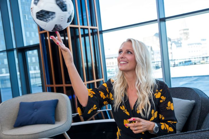 Josefine Høgh Fodboldmagasinet DR1