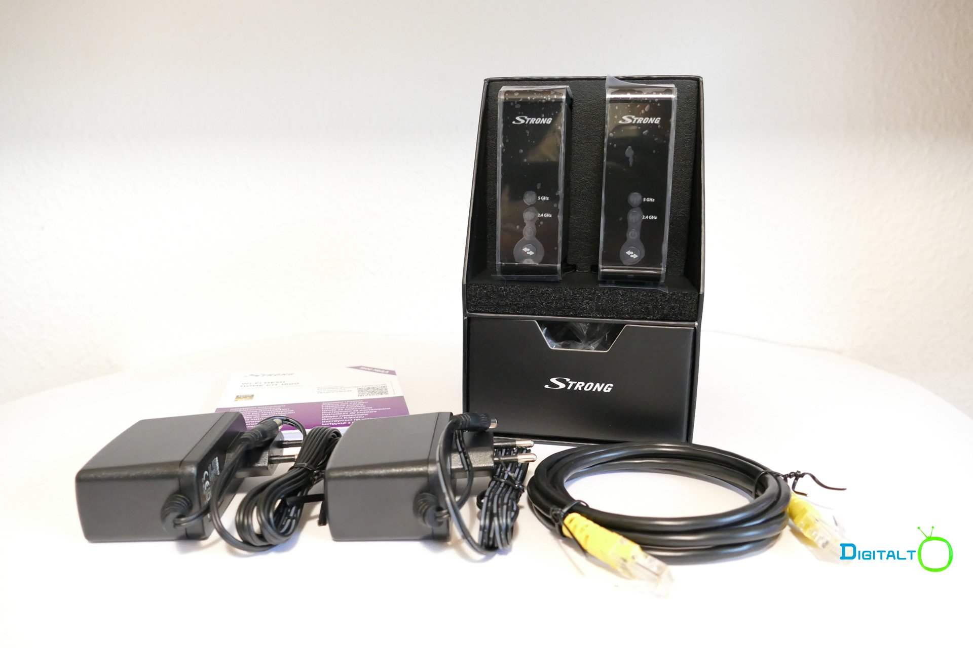 Strong Wi-Fi Mesh Kit 1600 udpakket