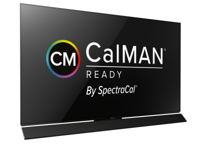 Panasonic TV Calman Logo Kalibrration