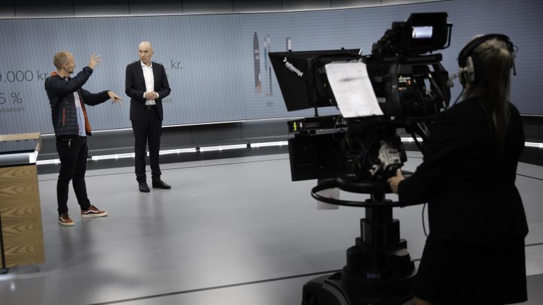 TV Avisen nyt studie DR1