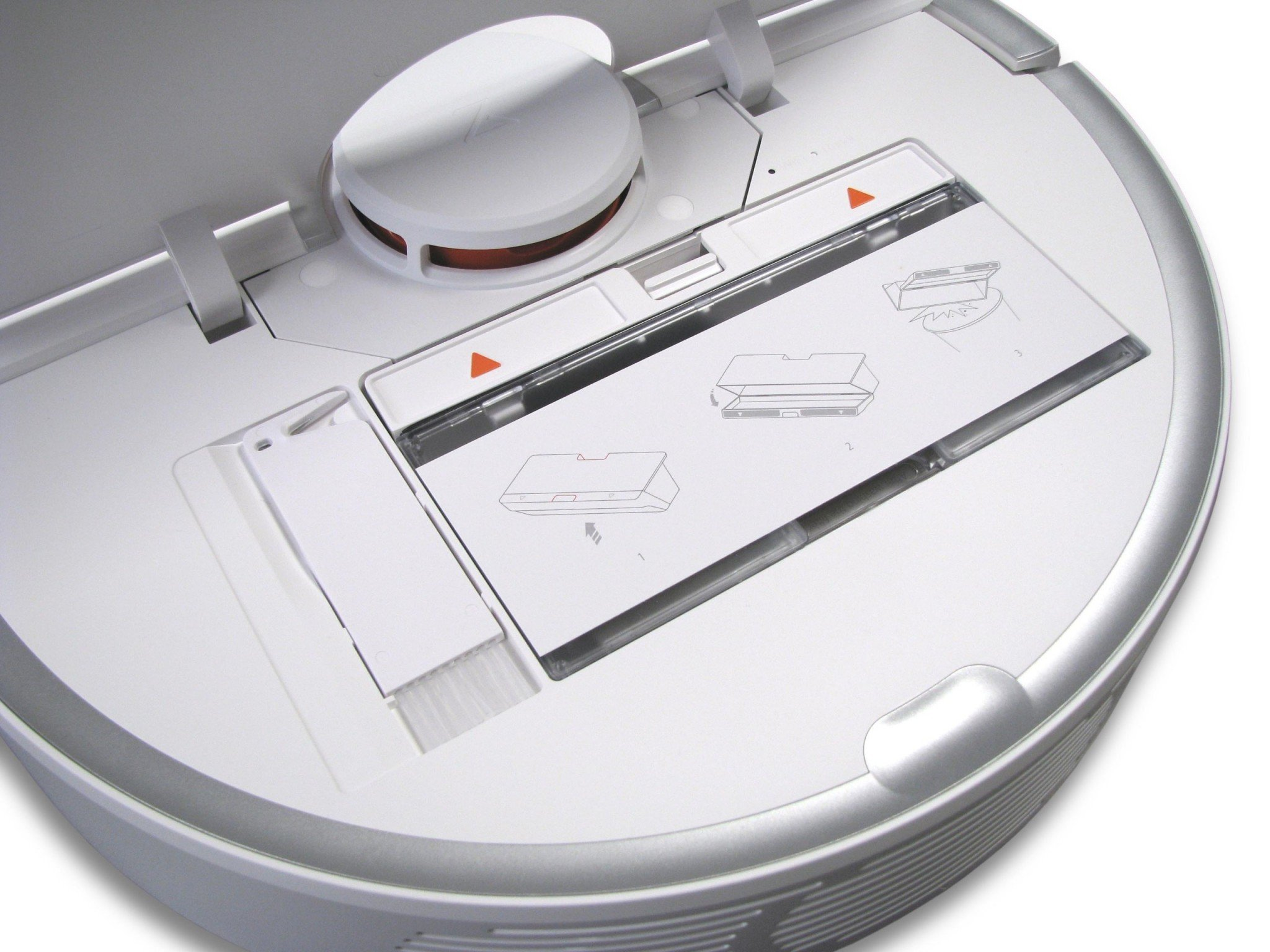 Xiaomi Roborock Mi S50 open
