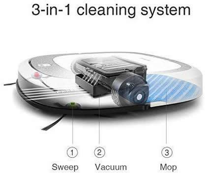 robot floor cleaners ecovacs deebot slim 2 robot bare floor cleaner 2 large
