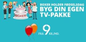Photo of Boxer TV fejrer fødseldag – Få 6 måneders Bland Selv TV til nedsat pris