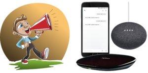 Photo of Stemmestyring af TV via Google Home og Logitech Harmony Hub