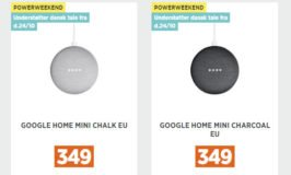 Photo of Google Home Mini til 349,- denne weekend hos Power.dk