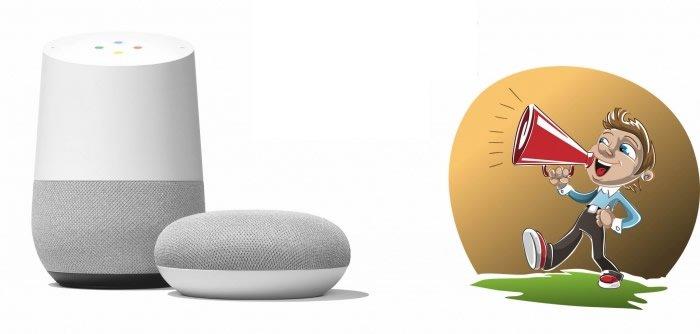 Google Home tale illustration