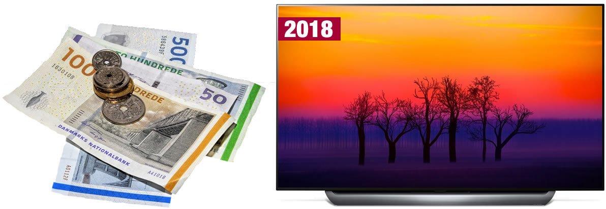 Prisforskel TV 2018