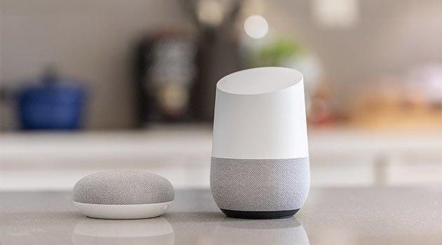 Google Home modellerne der er lanceret i Danmark